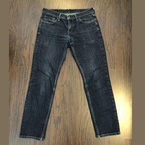Levis 511 Jeans Mens 29x30 Blue Denim